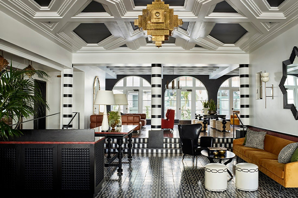 With a Knack for Grand Entrances, These Designers Create Spaces You Won't Want to Leave