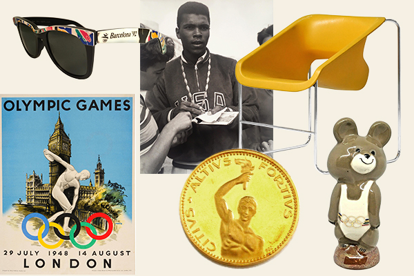 Medal-Worthy Memorabilia from Summer Olympics Past