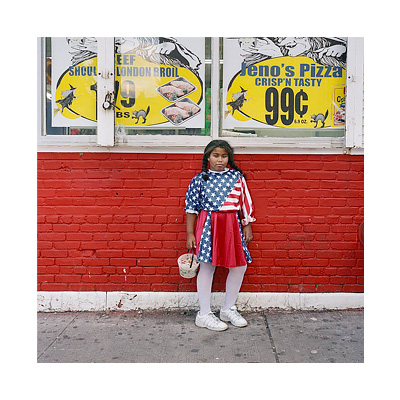 Earlie Hudnall Jr., Girl with Flag, 1991