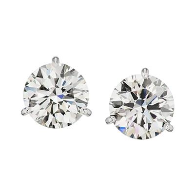 Antinori Fine Jewels 2.40-Carat Diamond Stud Earrings, 2020