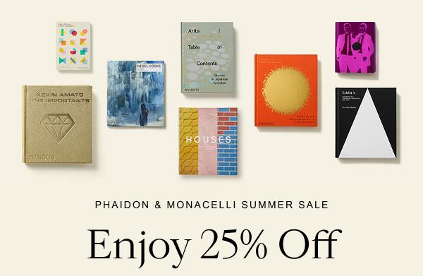 Phaidon & Monacelli Summer Sale